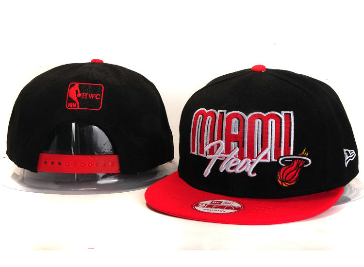 Miami Heat Snapback Hat YS